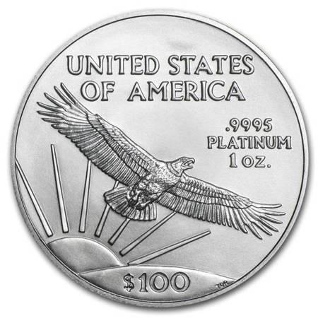 Platynowa Moneta Amerykański Orzeł 1 uncja 24h