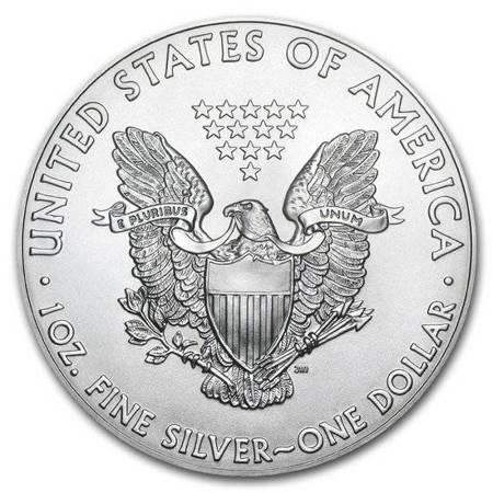 Srebrna Moneta Amerykański Orzeł 1 uncja 24h