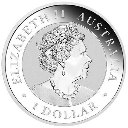 Srebrna Moneta Australijska Kookaburra 1 uncja