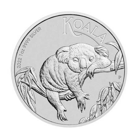 Srebrna Moneta Australijski Koala 1 uncja