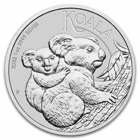 Srebrna Moneta Australijski Koala 1 uncja 24h