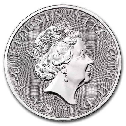 Srebrna Moneta Bestie Królowej: Completer Coin 2 uncje 24h