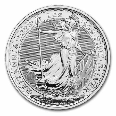 Srebrna Moneta Britannia 1 uncja 24h