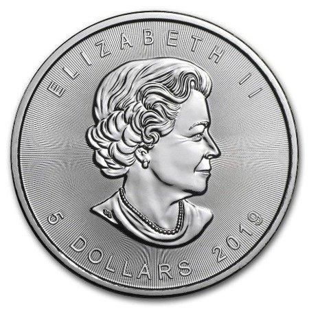 Zestaw Srebrna Moneta Kanadyjski Liść Klonowy 500x1oz