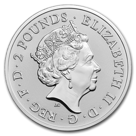 Srebrna Moneta Królewska Armia Brytyjska 1 uncja 24h