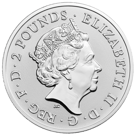 Srebrna Moneta Królewskie Herby 1 uncja 24h
