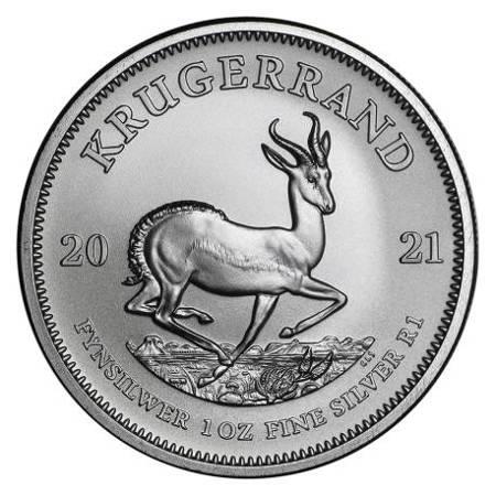 Srebrna Moneta Krugerrand 1 uncja