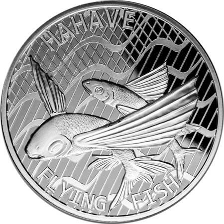 Srebrna Moneta Latające Ryby 1 uncja 24h