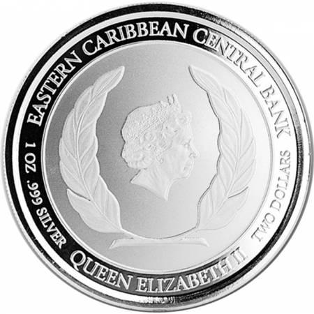 Srebrna Moneta Ośmiornica 1 uncja LIMITOWANA