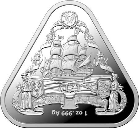 Srebrna Moneta Shipwreck Zuytdorp 1 uncja 24h