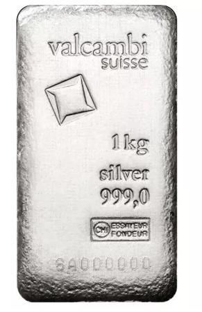 Srebrna Sztabka 1000g (1kg) 24h