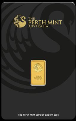 Sztabka Złota CertiCard 1g