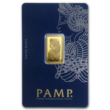 Sztabka Złota PAMP CertiCard 5g 24h