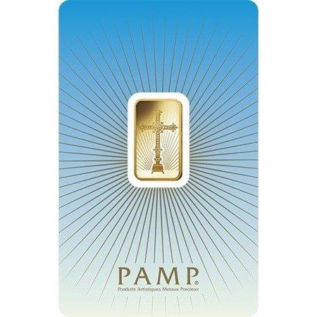 Sztabka Złota PAMP CertiCard Krzyż 5g 24h