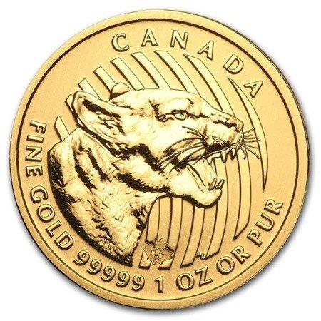 Zew Natury Puma Złota Moneta 1 uncja 24h