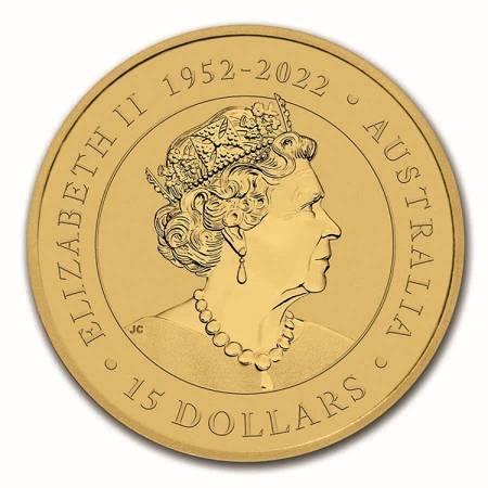 Złota Moneta Australijski Kangur 1/10 uncji
