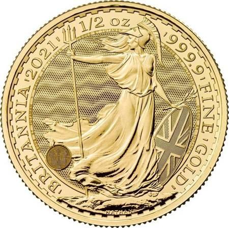 Złota Moneta Britannia 1/2 uncji 24h