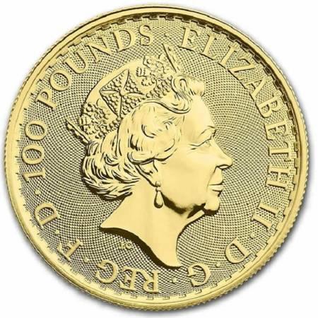 Złota Moneta Britannia 1 uncja 2021r NOWOŚĆ