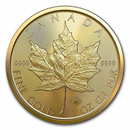 Złota Moneta Kanadyjski Liść Klonowy 1 uncja 2020r - 24h