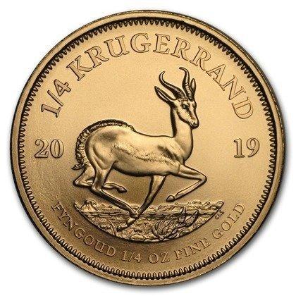 Złota Moneta Krugerrand 1/4 uncji