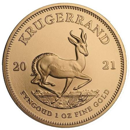 Złota Moneta Krugerrand 1 uncja - 24h