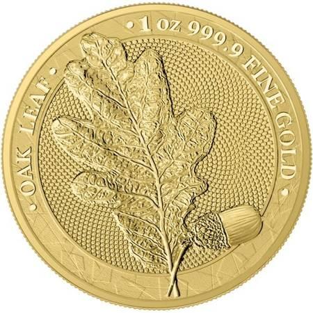 Złota Moneta Mythical Forest - Liść Dębu 1 uncja PROMOCJA