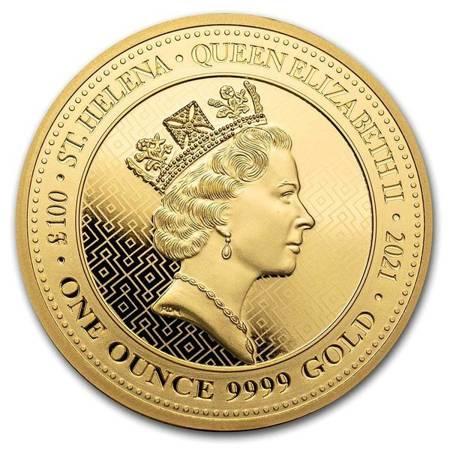 Złota Moneta Queen's Virtues - Victory 1 uncja