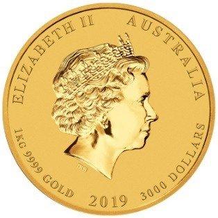 Złota Moneta Rok Świni 1000g (1kg) 24h