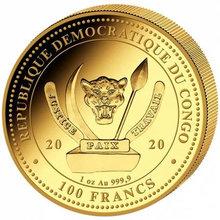 Złota Moneta Wieloryb 1 uncja 24h LIMITOWANA